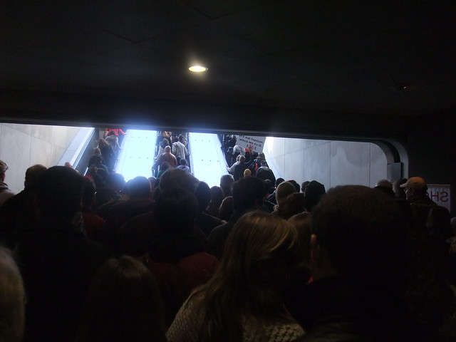 Lots of people in the metro station 3