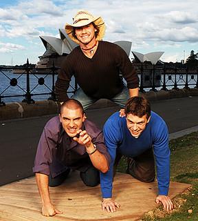 Isaac, Cohutta and Dunbar | The Boys of Real World Sydney ...