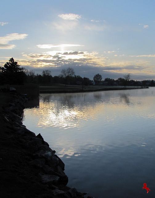 Sunrise at Arbor Lake Park