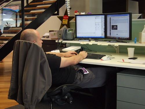 Andrei's ergonomic posture | by goosmurf