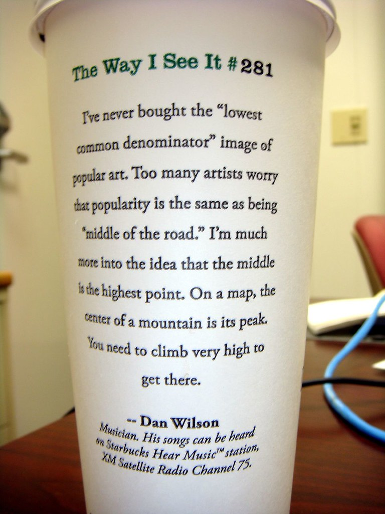 Starbucks #281 Dan Wilson
