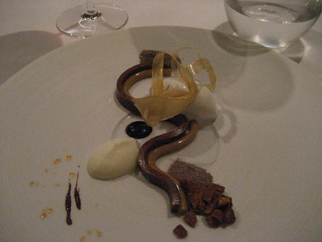 Oud Sluis: vijfde gang, eerste dessert.