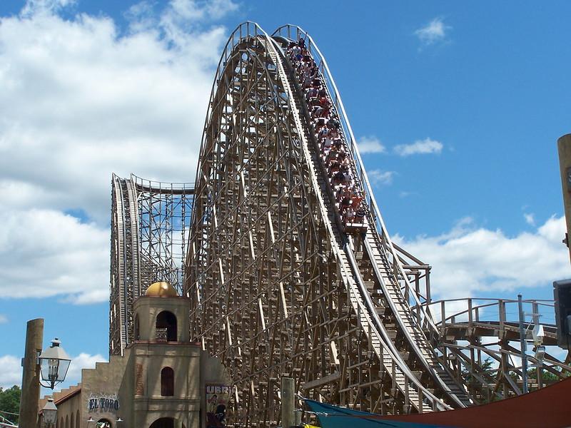 El Toro@ Six Flags Great Adventure