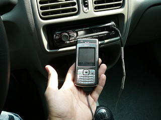 Nokia N70 DIY Loudspeaker car adapter | by tacvbo
