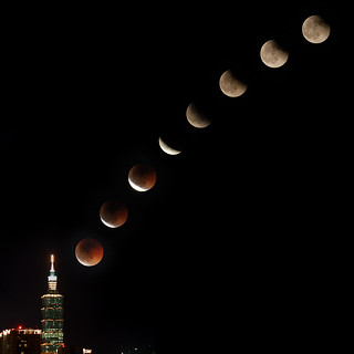 Lunar Eclipse (from Taipei) | by fjny