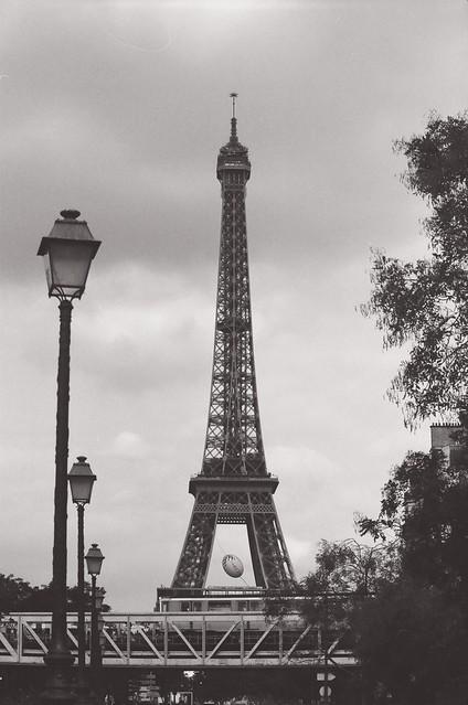 Tour Eiffel, pont de Bir Hakeim
