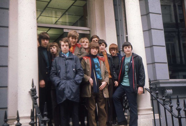 Fraserburgh Academy History Trip to London - 1972