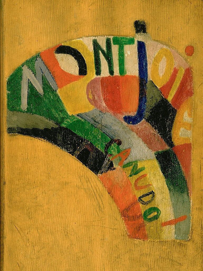 Delaunay-Terk, Sonia (1885-1979) - 1968 Montjoie (Hirshhorn Museum and Sculpture Garden, Washington DC)