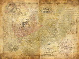 Treasure map | by think4d