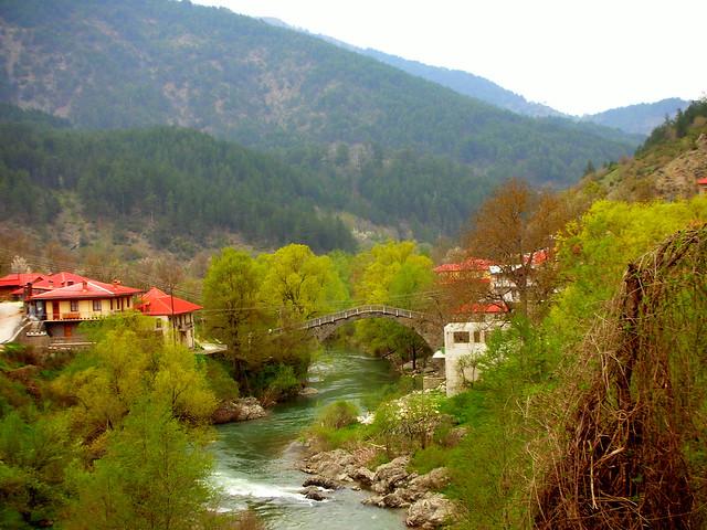 Vovousa village