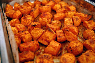 Roasted Sweet Potatoes | by su-lin