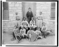 African-American baseball players of Morris Brown College Atlanta   by Black History Album
