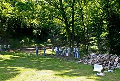 Zen Garden in Druid Hill Park