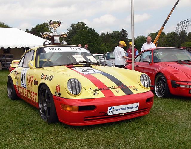 Winning Porsche