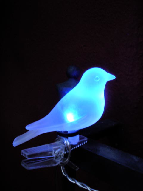 The blue bird of happiness is on sale at IKEA, Los Angeles… | Flickr