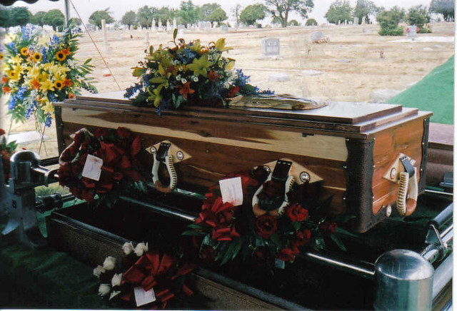 Cowboy Casket- My Father Bobby | GrnEyesnNV | Flickr