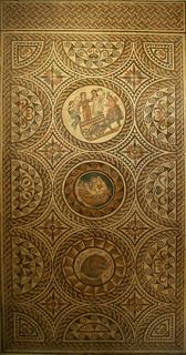 Mosaic de la Casa de Liber Pater, Museu de Sàbrata | by Sebastià Giralt