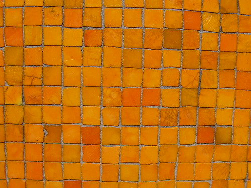 Very orange mosaic