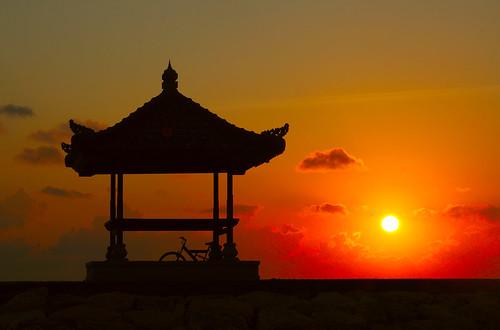 park bali beach bike sunrise indonesia searchthebest gazebo sanur canonef28105mmf3545usm canon400d photofaceoffwinner photofaceoffplatinum pfoplatinum mariaismawi