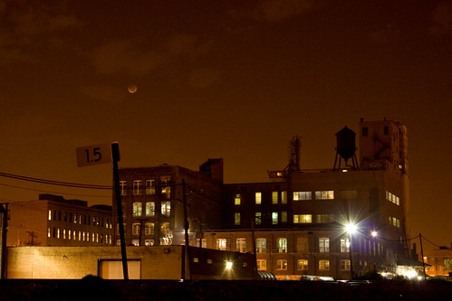 [mb] Chicago Trainyard During Lunar Eclipse (3) | by Merrick Brown