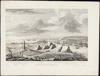 A View of Louisburg in North America / Vue de Louisbourg, en Amérique du Nord
