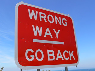 WRONG WAY / GO BACK | by naz's stuff