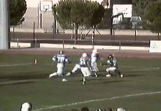 "Edgardo ""Eddie"" Donovan - #28 Italian National Team American Football 1992"