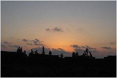 sunset on the fort chapora, vagator | by nevil zaveri (thank you for 15+ million views:)