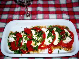 Caprese Salad we made tonight