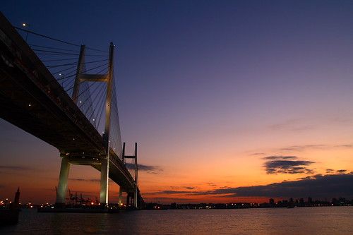 Yokohama Bay Bridge. | by skyseeker