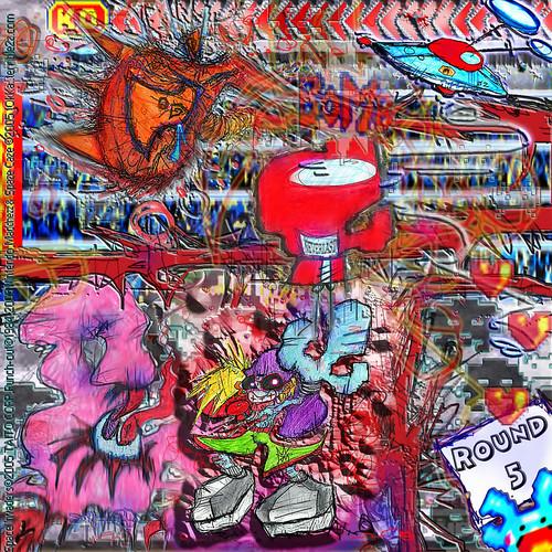 taito spaceinvaders spazecaze themaddnezz choas schizophrenia punchout box brain broil pow bomb defeat hook everlast neverlast upper lower bodyblow hyper round fightsong oni yomi zeta alien tokka terrible2zcom imagesrctokkaterrible2zcom