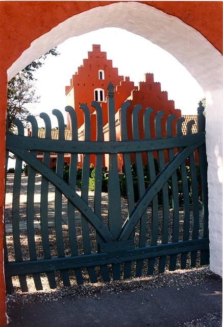 Danish red church