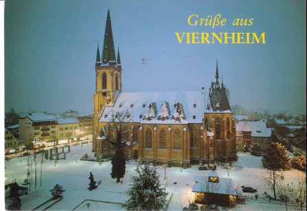 Map Of Viernheim Germany.Germany Viernheim St Apostel Kirche From Rory German