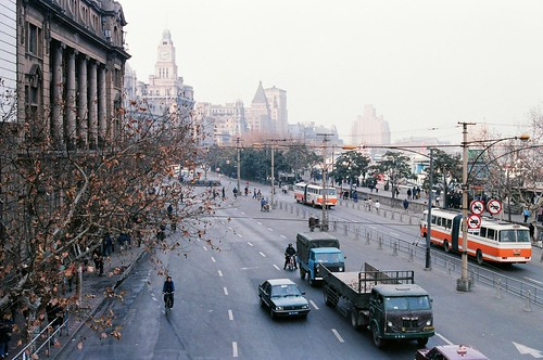 The Bund - Shanghai 1986 | by Gedawei 葛大为