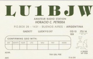 Qsl Card 1997