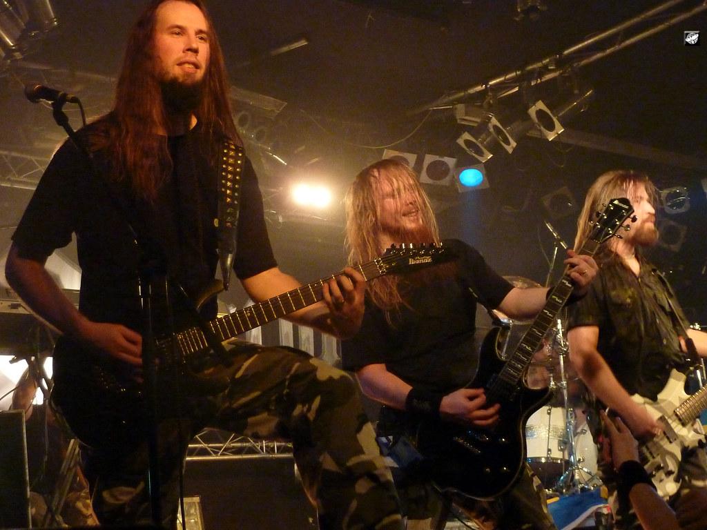 Sabaton - Oskar Montelius, Rikard Sundén and Pär Sundström… | Flickr