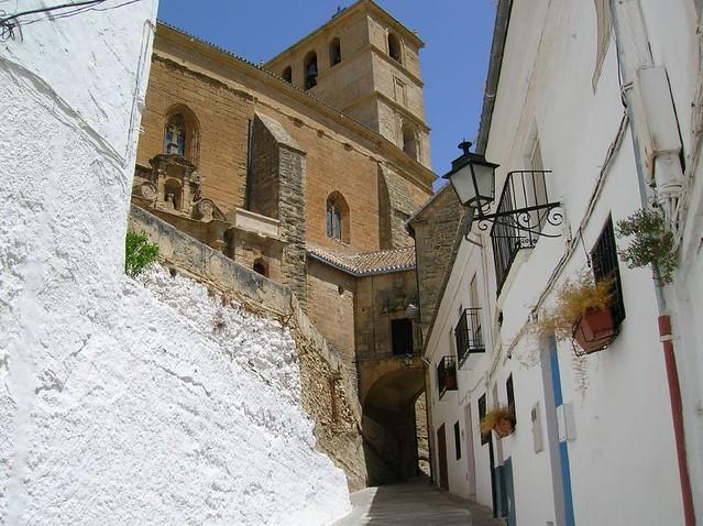 Panorámica de la Iglesia de la Encarnación.
