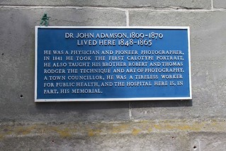 Blue plaque to Dr John Adamson | by Visit St Andrews