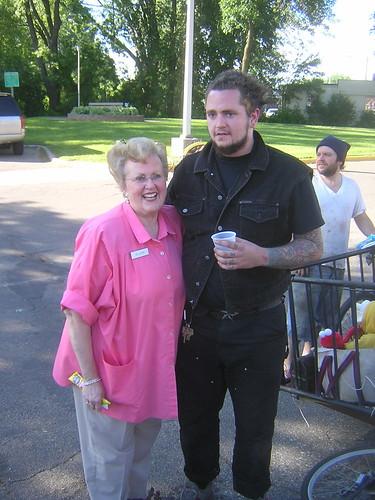Doyle And His Grandma | by megulon5