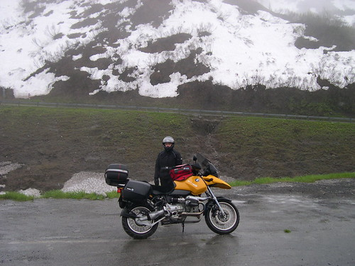 At the top of the Arlberg Pass