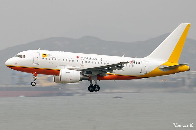 China Sonangol International Airbus A318-112(CJ) Elite B-6188