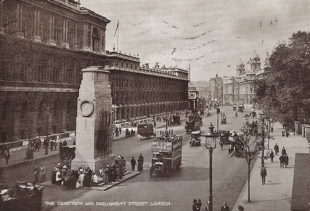 London - Cenotaph Prior to 1924. And Some Interesting Facts.