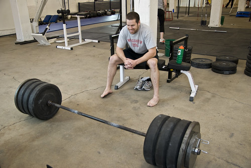 matt's deadlift bar at max | by ramsey everydaypants