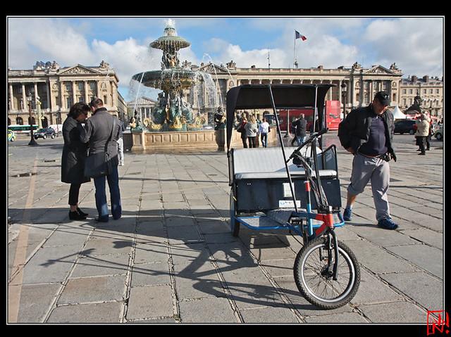Hep, vélo-taxi !