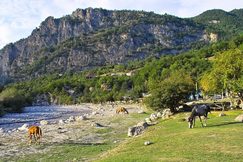 Afurja, near Quba, Azerbaijan