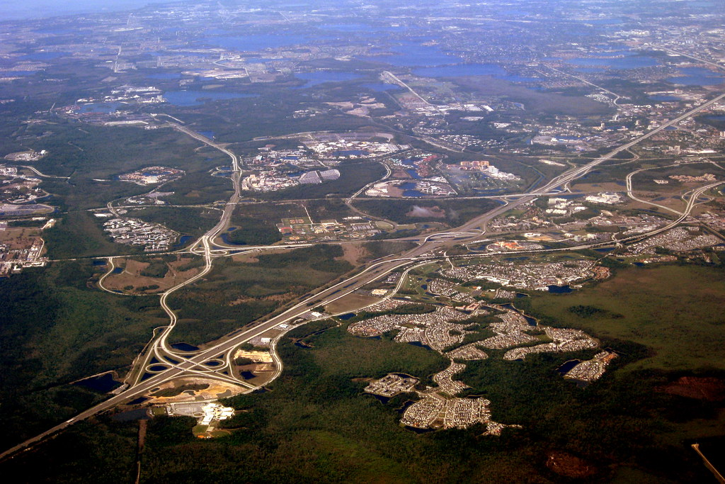 Florida Aerial View Walt Disney World Resort Jared Flickr