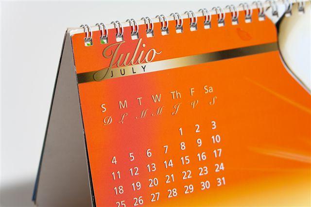 Marca Calendario.Calendario Corporativo Larrea Marca Digital Imprenta Larrea Marca