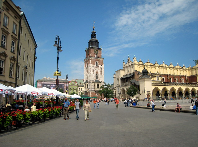 Krakow, centrum