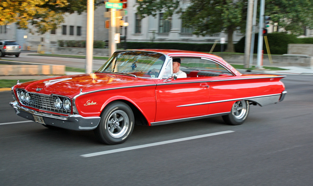 1960 Ford Galaxie Starliner 2 Door Hardtop Coupe 1 Of 15
