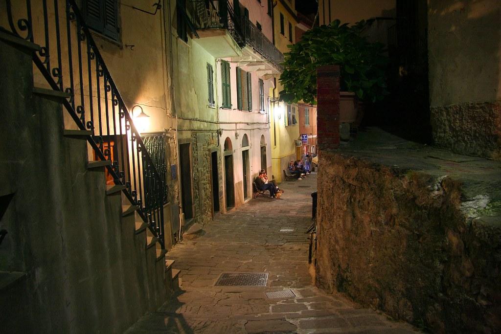 Corniglia at Night